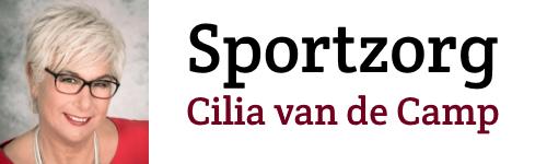 Sportzorg Cilia van de Camp
